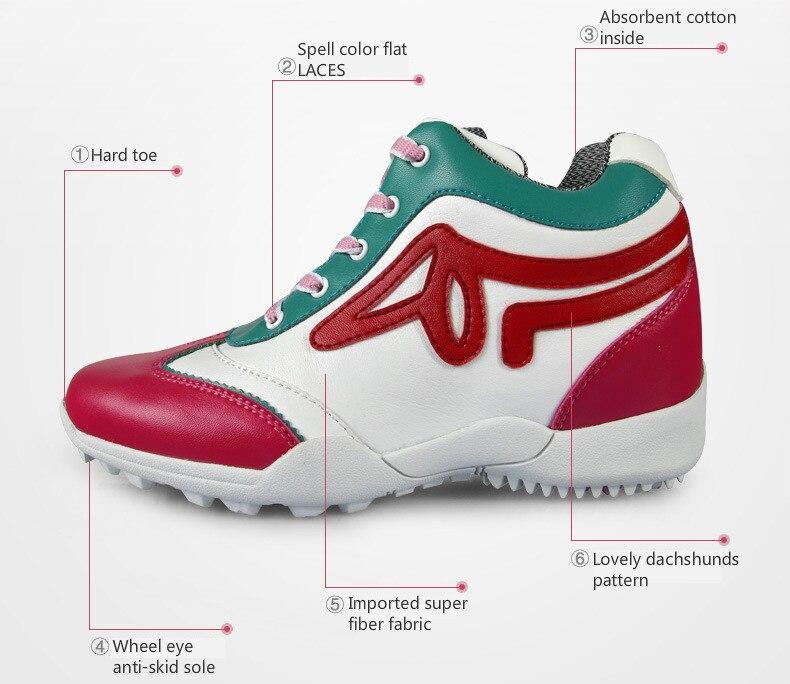 2018 novo verão sapatos de golfe PGM