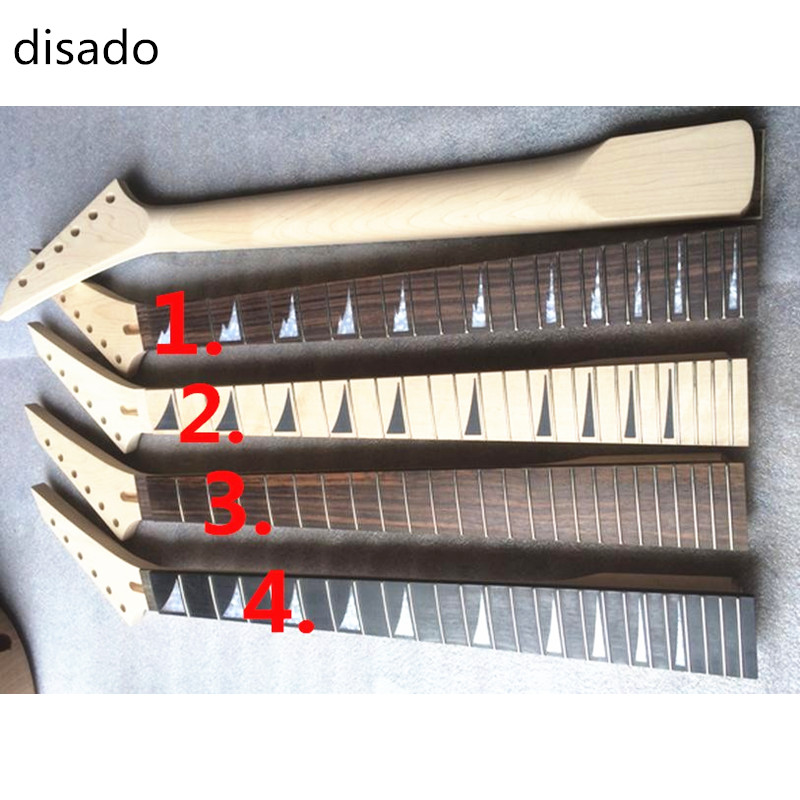 disado Musical instruments 24 Frets Maple Electric Guitar Neck Guitar Parts  accessories china electric guitar lp custom black beauty solid body gold parts musical instruments free shipping