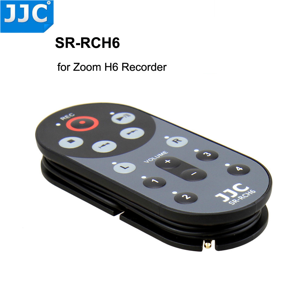 US $18 99 |JJC 1 5m SR RCH6 Wired Remote Control Controller for ZOOM H6  Handy Recorder Replaces ZOOM RCH6-in Shutter Release from Consumer  Electronics