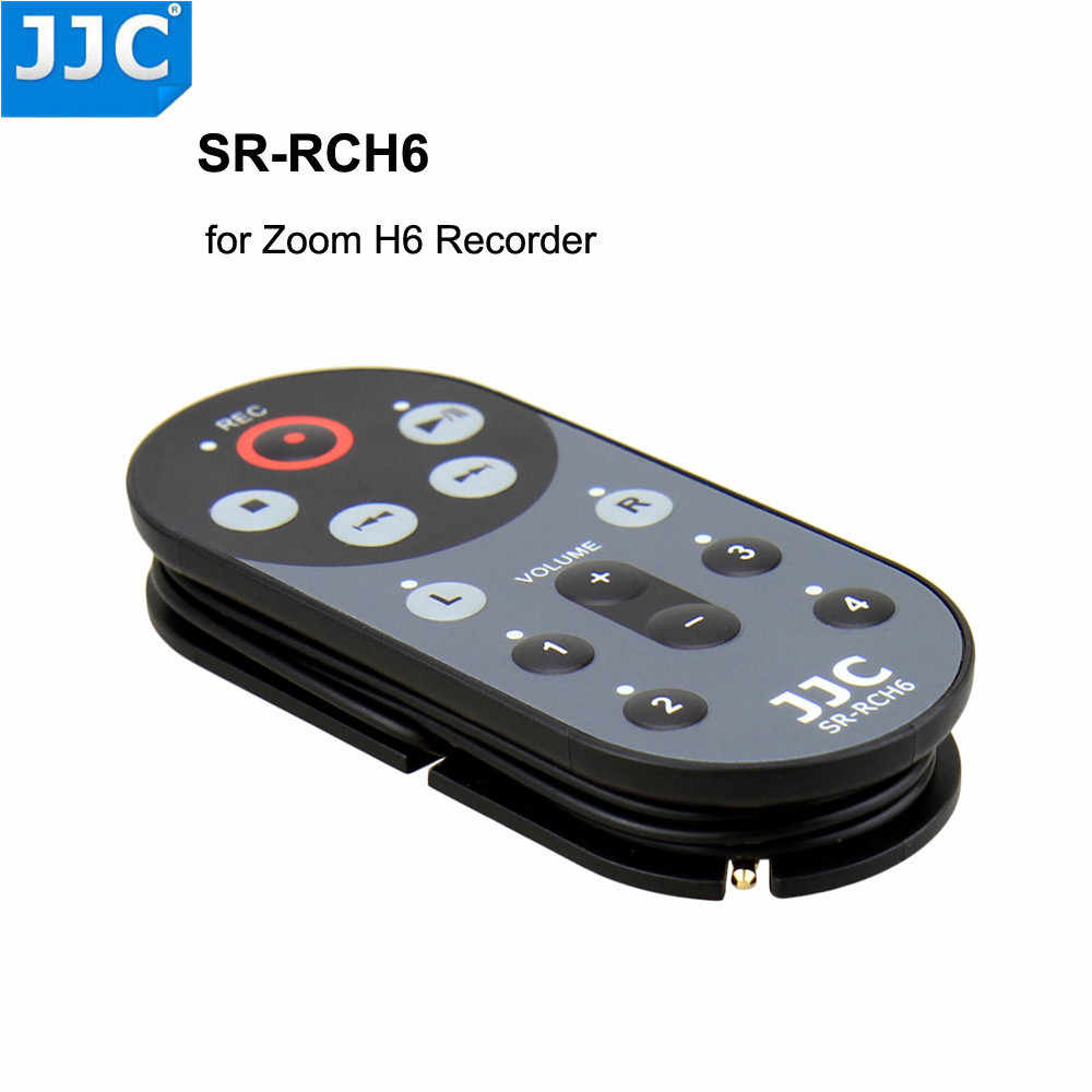 Zoom H6 Recorder Jjc 1 5m Sr Rch6 Wired Remote Control Controller For Zoom H6 Handy Recorder Replaces Zoom Rch6
