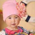 High Quality Baby Hat Children's Cotton Beanies Cap for Spring and Autumn Lace Flower Newborn Hat SW057
