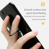 Baseus Finger Ring Phone Holder For iPhone Samsung Xiaomi Mobile Phone Holder Stand Ring Holder Stand For Magnetic Car Holder 4