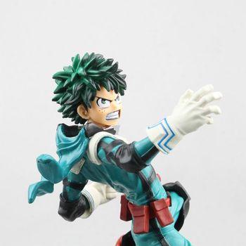 NEW hot 17cm My Hero Academia Midoriya Izuku Combat move Action figure toys doll with box