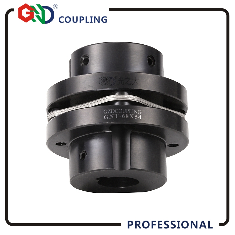 цены GNT 45# Steel Stepped Single Diaphragm Keyway Series 45# Steel shaft coupling D26mm, L26mm