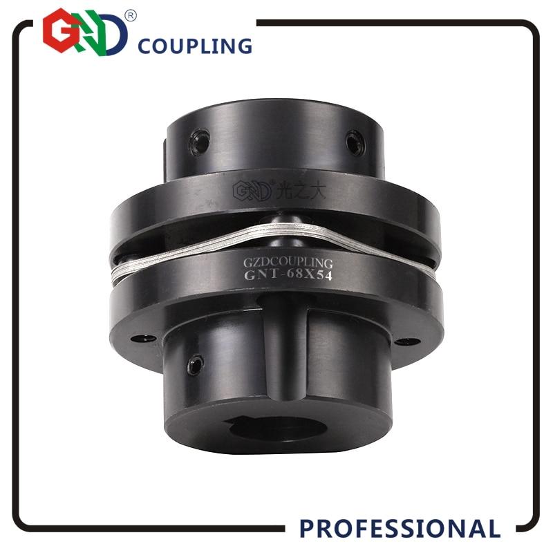 цены GNT 45# Steel Stepped Single Diaphragm Keyway Series 45# Steel shaft coupling D26mm, L26mm