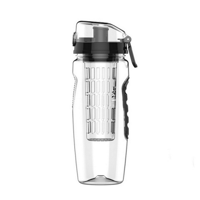 1000 ml / 33.81 Oz Water Bottle with Fruit Infuser