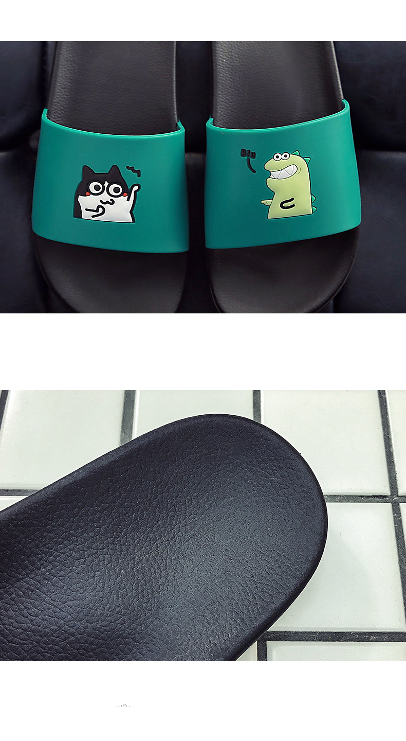 WHOHOLL Man Home Slippers Summer Sandals 2019 New Anti-skid Outside Wear Indoor Home Bathroom Bath Couple Cold Slippers Male 9