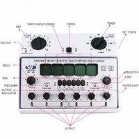 Многофункциональный Электрический Массажер импульсный десятки стимулятор мышц акупунктуры инструмента релакс массаж тела устройство для