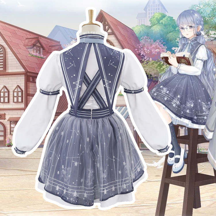 Miracle-warm-with-the-same-paragraph-COS-clothing-lolita-streamer-garden-autumn-pick-star-classic-daily (4)