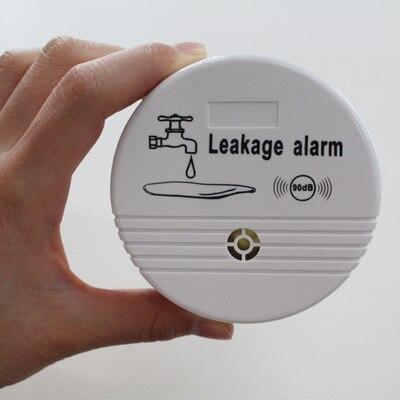 Independent Wireless Water Leak Detector Sensor 90 dB Volume Water Leakage Alarm for Home Kitchen Toilet Floor