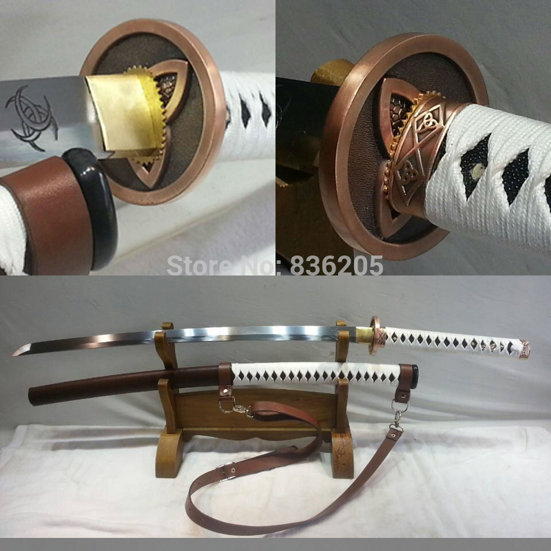 Plně funkční Skutečně ostrý ručně chodící mrtvý meč japonský katana samuraj