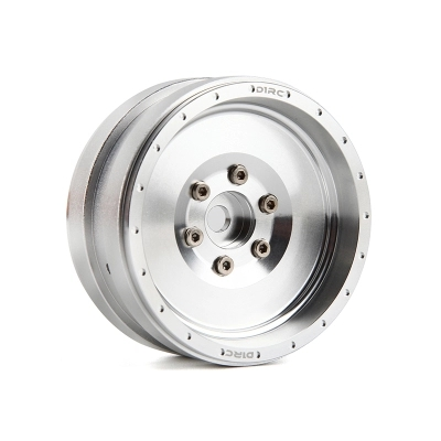 4 piezas D1RC 1,9 Beadlock rueda llanta para todos las 1:10 1:8 rastreadores Traxxas TRX-4 TRX4 RC4WD D90 D110 TF2 Axial SCX10 90046