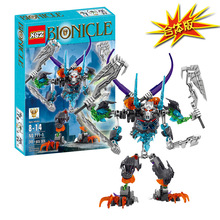 BionicleMask of Light XSZ 711-1 Children's Fit Robot Bionicle Building Block Minifigure Compatible with Legoe Brick Toys