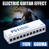 Guitar Effect Pedals 10 Isolated Durable Music Output Power Supply Stage US Adapter Tool Band