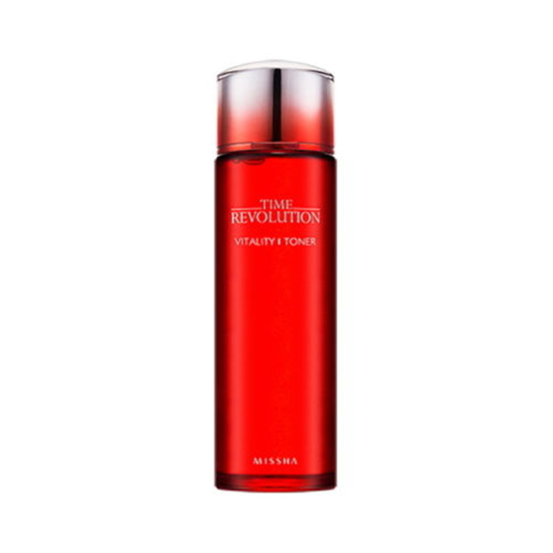 Missha Time Revolution Vitality Toner 150ml Moisturizing Whitening Treatment Face Care Korea Cosmetics hair vitality energen care 175