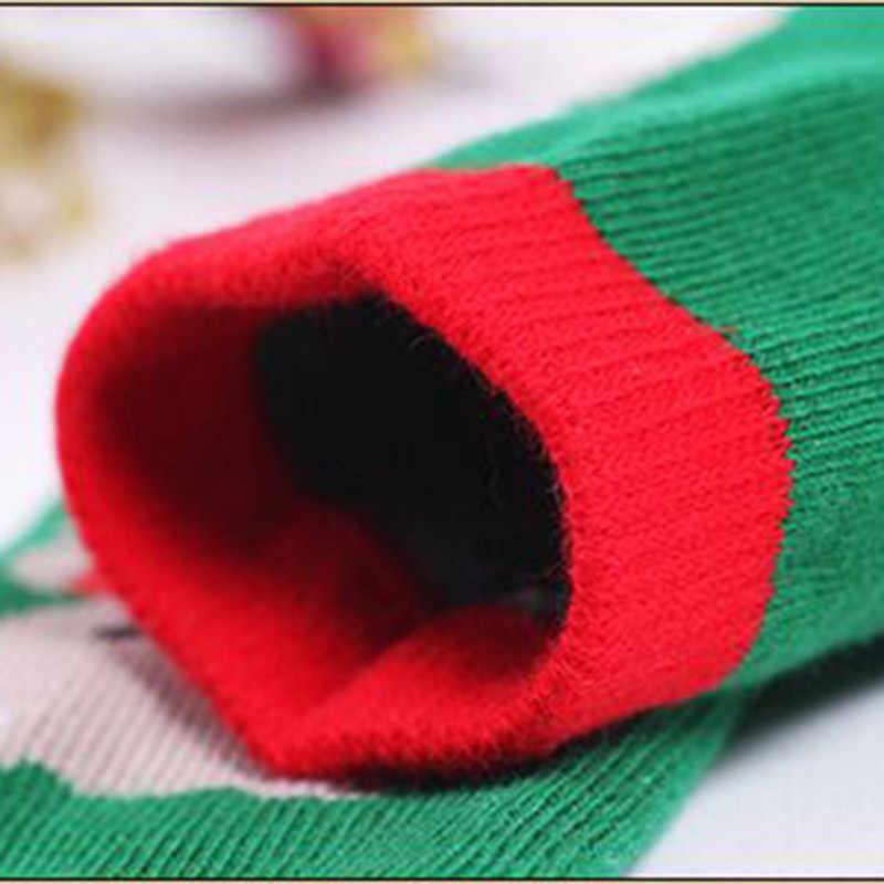 0-2T taille libre bébé coton chaussettes conception de noël bébé filles chaussettes bande décontracté bébé garçon enfants chaussettes de noël 6 Style