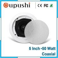 Freies verschiffen Zuhause sound system deckenlautsprecher abdeckung 5 zoll verstärker lautsprecher 30 watt KS818