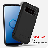 New Portable Powerbank Back Cover Battery Charger Case For Samsung S9 S9 External Backup Power Bank