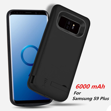 Portable Powerbank Charger Cover For Samsung S9 S9+ Battery Cases Backup Power Bank Plus Note 8 External