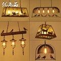 Романтические промышленные винтажные подвесные светильники для столовой  гостиной  кафе  спальни  бара  американский обруч  стеклянные шар...