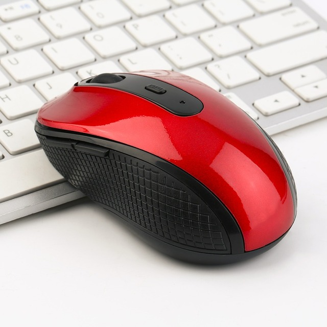 Wireless Mouse 2.4GHz USB Optical Wireless Mouse USB Receiver Mice Cordless Game Computer PC Laptop Desktop 3 Colors
