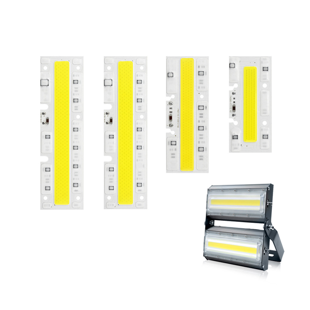 High Power Cob Led Chip 220v 30w 50w 70w 100w Strip Light Lamp Bulb Integrated Smd For Diy Outdoor Floodlight Spotlight Lighting