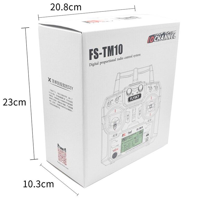 Flysky FS-TM10 2.4G 10CH RC Transmitter with IA6B Receiver For RC Car Boat FPV