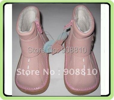 Детская обувь из мягкой кожи; розовые детские ботинки с пряжкой; обувь на молнии для девочек; Новинка; Розовая скидка