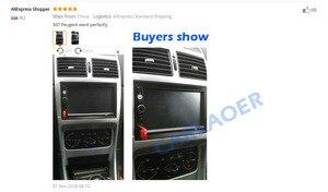 Image 5 - Auto Frame Voor Peugeot 307 2001 2008 Audio Conversie Dashboard Panel Frame Autoradio Grootte 178*102 Mm 190*120 Mm 2 Din Fascias