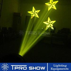 Image 5 - Mini cabezal móvil 90W Spot Lira LED Disco luz prisma efecto de haz DMX512 Control Gobo proyector Dj luces música en movimiento reacción