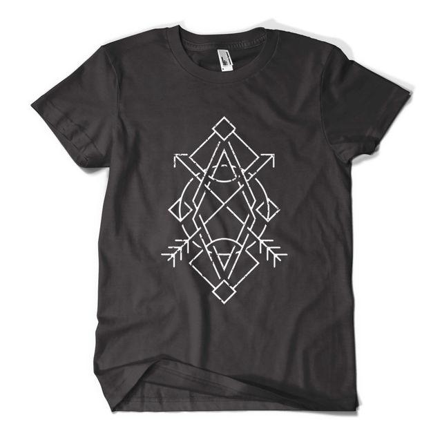 e46f58aea Geometry T Shirt Fashion Print Indie Hipster Urban Design Mens Girls ...