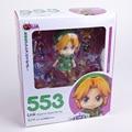 Lindo Nendoroid The Legend of Zelda Enlace de Majora Mask 3D Ver. #553 PVC Acton Figura Model Collection juguete