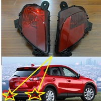 2 Pcs/Pair RH and LH Tail rear fog lamps rear bumper fog lights for Mazda CX 5 2013 2015