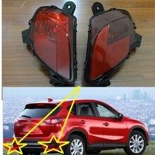 2 шт./пара правый и левый Хвост Туман лампы Задний бампер огни для Mazda CX-5 2013-2015