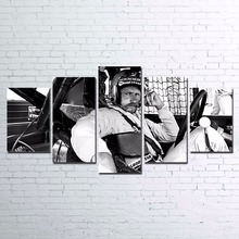 Canvas Paintings Wall Art Living Room Home Decor 5 Pieces Car Racing Poster HD Prints Characters