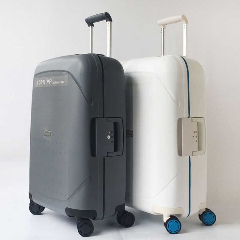"REIZEN TALE 20 ""24"" 28 ""inch spinner PP rolling bagage hardside cabine trolley koffer case travel box"