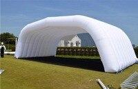 Привлекательный Новый стиль надувные вечерние туннель палатка для выставки, события