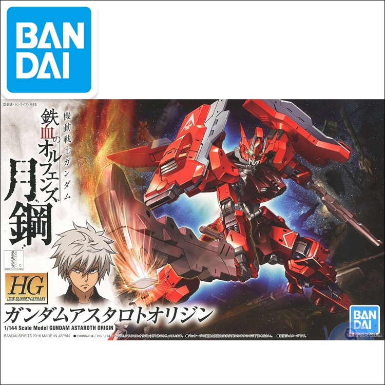 Japaness Robot Gundan Model HG 1/144  GUNDAM Scale Model ASTAROTH ORIGIN Mobile Suit Kids Toys