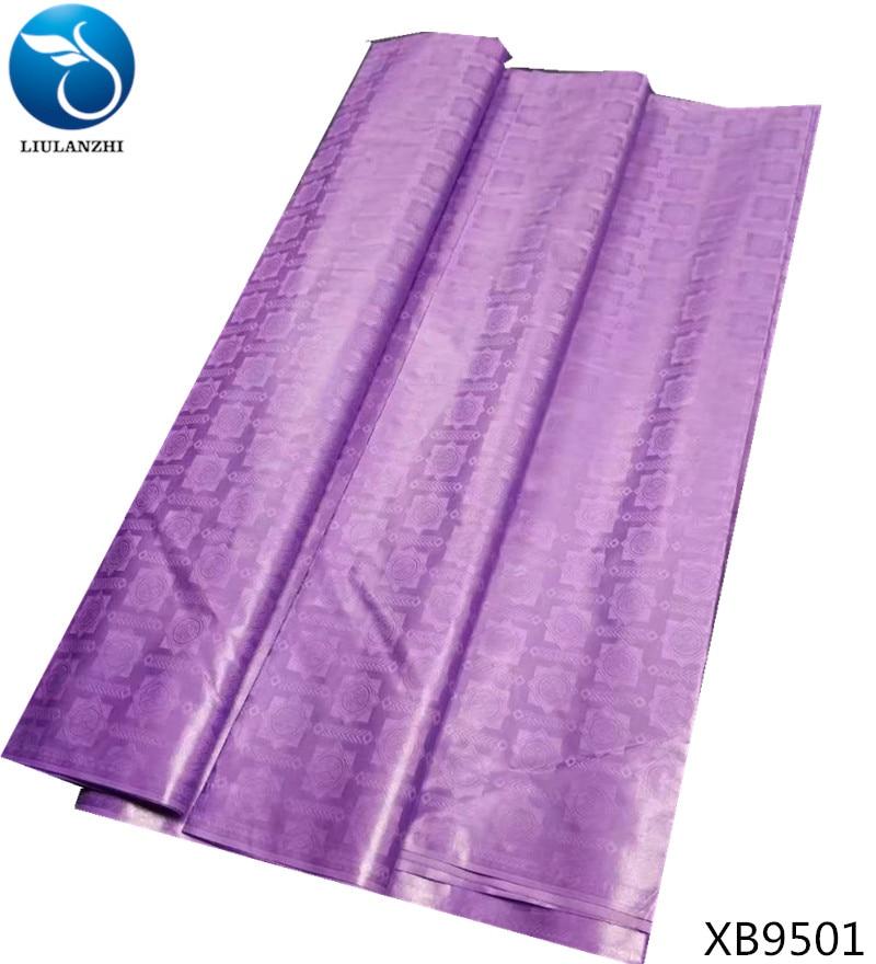 LIULANZHI purple tissu african bazin riche getzner fabric 5yards lot african fabric luxury curtain fabric high quality XB95 in Fabric from Home Garden