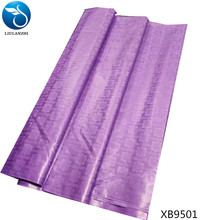 LIULANZHI purple tissu african bazin riche getzner fabric 5yards/lot luxury curtain high quality XB95
