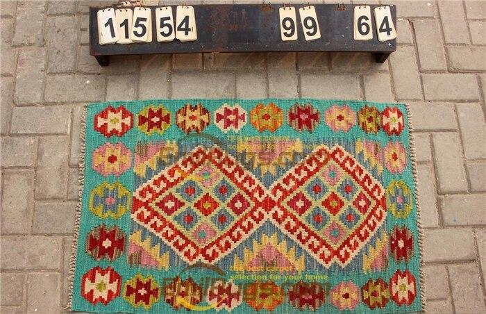 Laine ou soie persan grand Style Vintage canapé étage utilisation décoration de la maison laine tapis tapis Antique tapis - 3