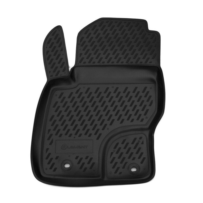 Mats in the salon For FORD Focus II, 2004-2011, front left, 1 PCs (polyurethane) mats in the salon for ford escape 2007 3 pcs polyurethane