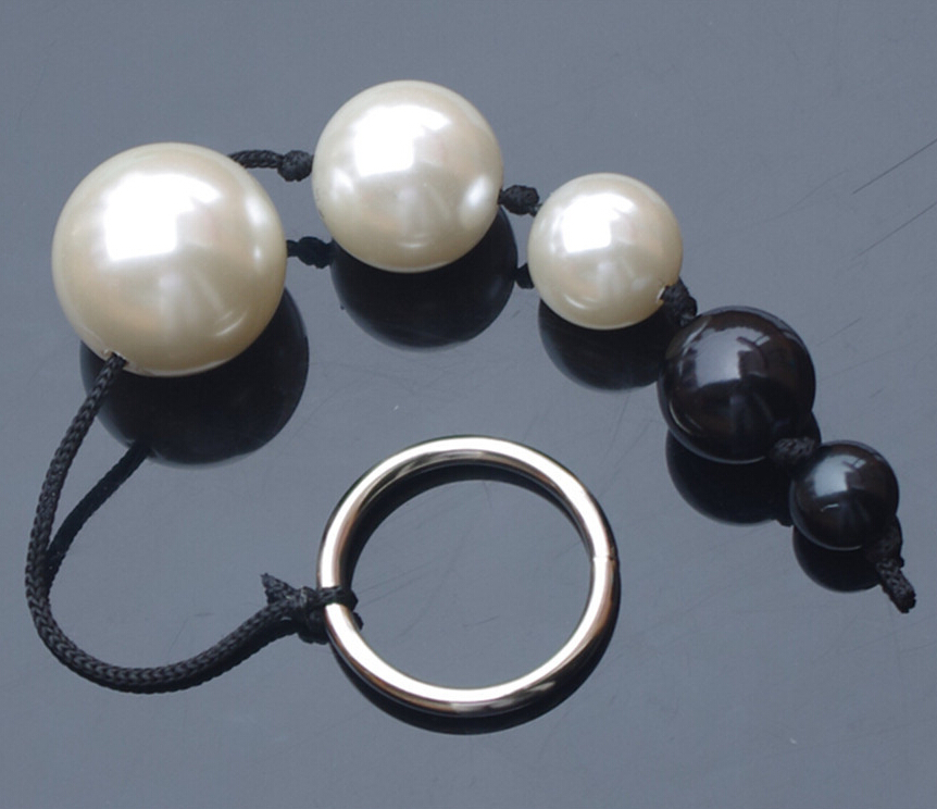 5 Beads Anal Toys Smart Elves Love Balls Pearl Anal Beads Butt Plugs Anal Sex Toys For Men & Women Adult Games Products