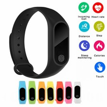 M2 Smart Band Waterproof Heart Rate Monitor Bluetooth Bracelet Sleep Fitness Tracker Pedometer Wristband