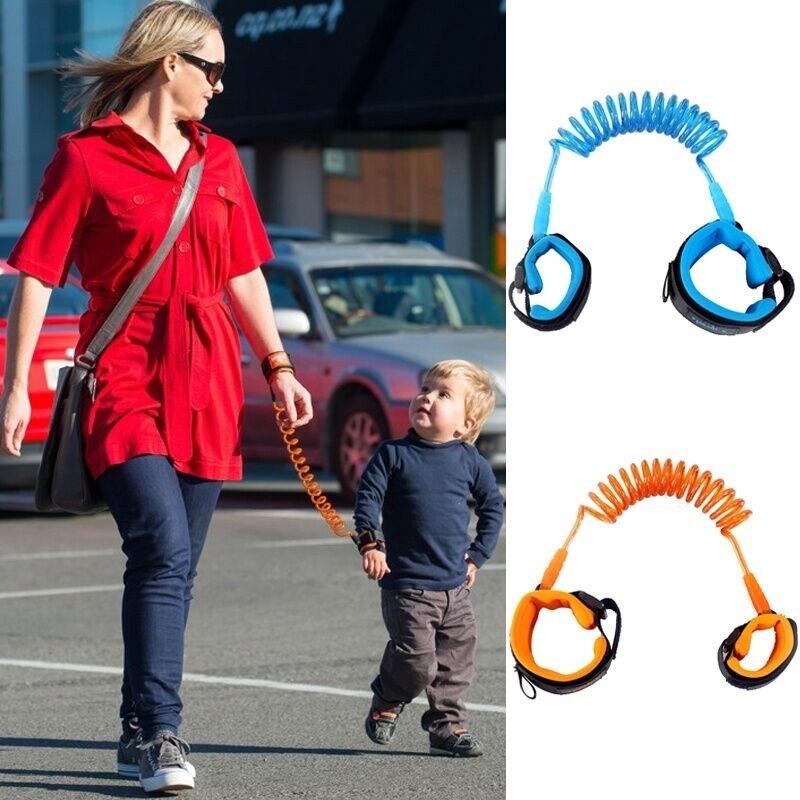 PUDCOCO Toddler Link Kids Babys Safety Bracelet Walking Harness Anti-lost Strap Wrist Leash Hand Belt