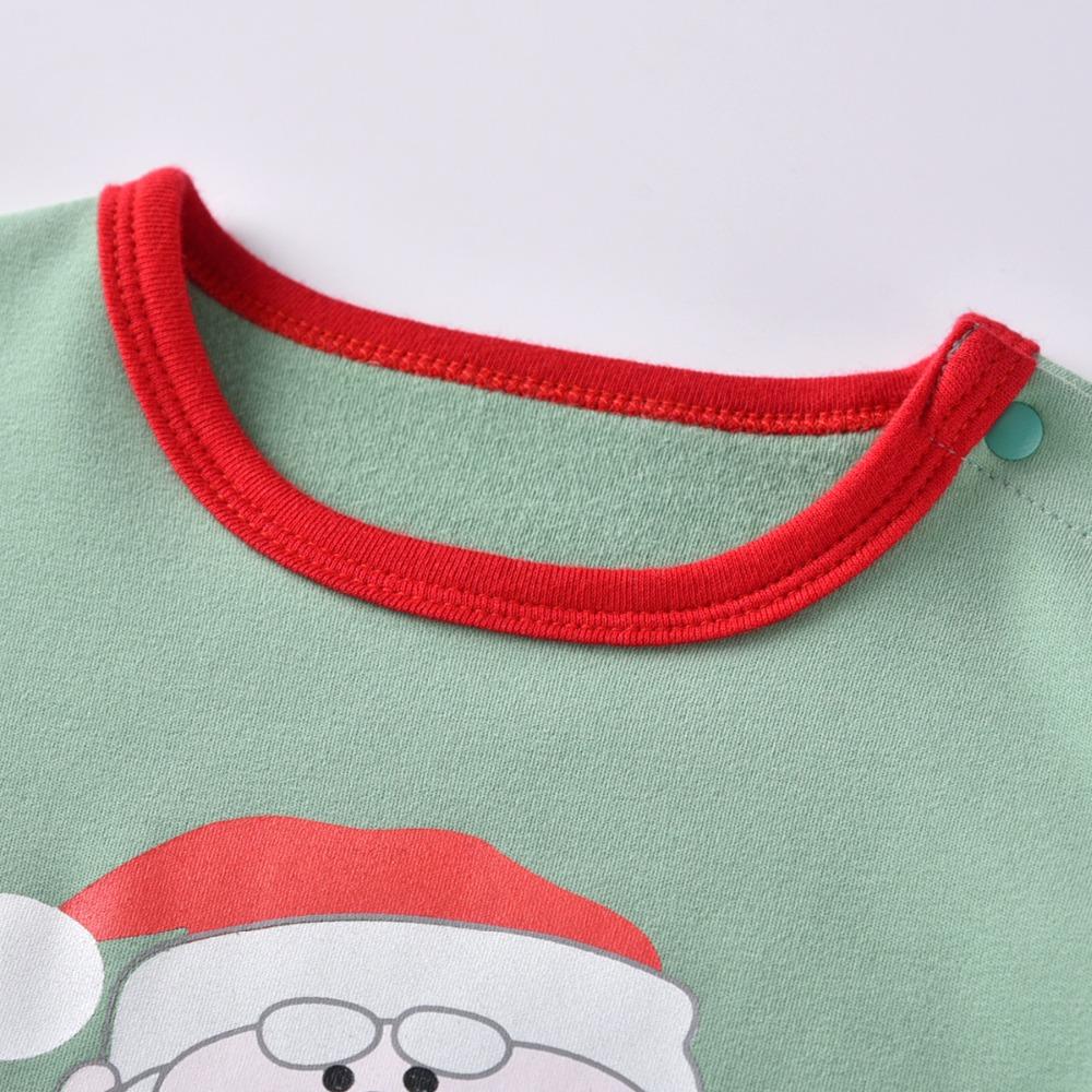 HTB1vajWczrguuRjy0Feq6xcbFXaE - Christmas Santa Claus Girls Costume Jumpsuit Autumn Winter Kids Climbing Romper thickening Jumpsuit hat baby Boy onesies pajamas
