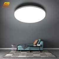 Lámpara de techo LED 48W 36W 24W 18W 13W 9W 6W lámpara de Panel de montaje superficial 85-265V moderna lámpara UFO para iluminación de decoración del hogar