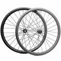 Карбоновая Передняя Велосипедная вилка колеса 29er 30x28mm бескамерные прямые pull FASTace DA206 100x15 142x12 велосипедные дисковые колеса <font><b>mtb</b></font> велосипедная па...