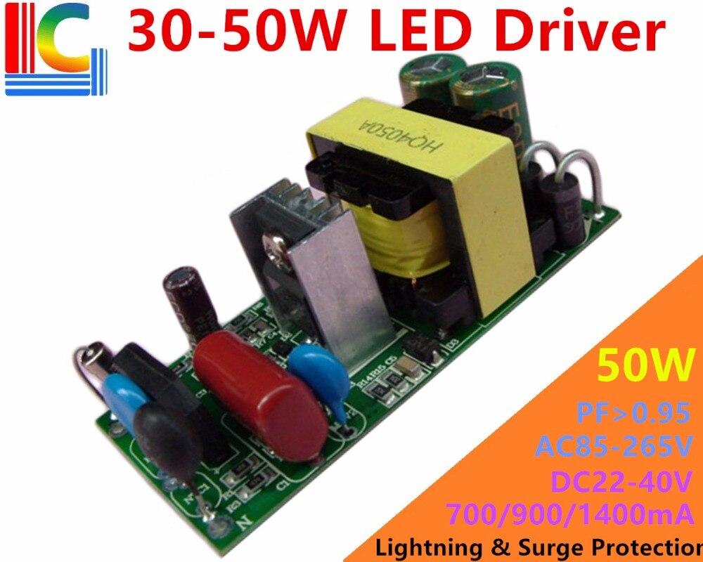 30W 40W 50W Lighting Transformer Ac To DC 22V -80V Power Supply Output 700ma 800mA 900ma 1050ma 1200ma 1400mA LED Driver Adapter