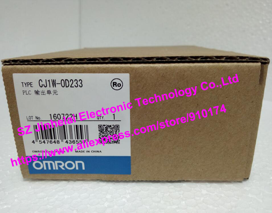New and original CJ1W-OD233 CJ1W-0D233 OMRON PLC OUTPUT UNIT dhl eub 2pcs original for omron new cj1w pd022 sha03 cj1wpd022 plc module 15 18